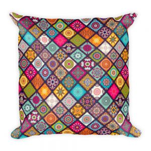 mandala square pillow 2018 collection